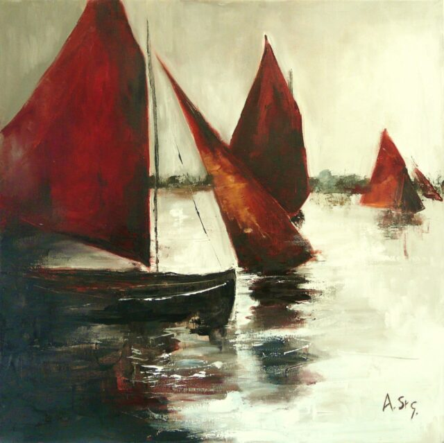 The End of the Regatta by Anna St George